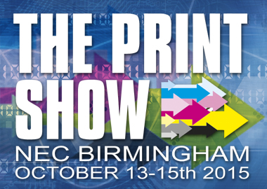 The print show Birmingham Uk – Stand G36 – 13/15 October 2015